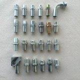 El adaptador de tubería 90 ORFS hembra manguera de alta presión engastado tuerca gratis SAE J516 Montaje