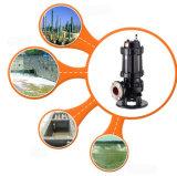 Pompe submersible de coupeur d'eaux d'égout de Qw