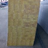 Factory Direct de la laine de roche couleur Composite Panneau sandwich en acier