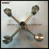 4 bras en acier inoxydable, assemblage d'araignée en verre, support d'araignée (HR220A-4)