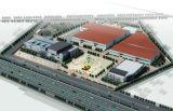 Viale prefabbricato del negozio della struttura d'acciaio (KXD-SSB1499)