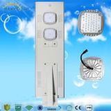IP65 30W integrado al aire libre en una sola calle luz LED Solar