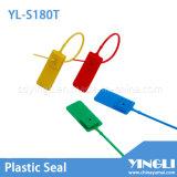 Selo de plástico ajustável com folha de bloqueio de metal (YL-S180T)