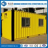 容易中国デザイン安いプレハブの容器の家をインストールしなさい