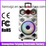 Éclairage LED portatif de haut-parleur de Bluetooth grand pouce F12-23 du haut-parleur 12 de chariot à pouvoir