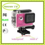 超4k WiFi 2.0インチの防水カメラ170の程度DV