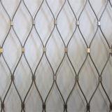 ダイヤモンドのFerruledステンレス鋼ワイヤーロープケーブルの手すりのInfillの網