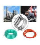 調節可能な金属のハードウェアのアメリカのタイプステンレス鋼の管のホース留め金