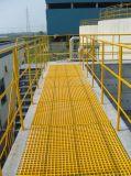 Reja moldeada Fiberglass/FRP disponible de la talla 1220mmx2440m m del panel con resistente a la corrosión de alta resistencia