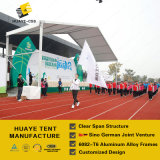 [بلوكووت] بيضاء [بفك] رياضة لقاء خيمة مع [جرمن] معياريّة ألومنيوم هياكل ([ب3] [هف])