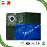 De HDPE Folha rolo plástico impermeável com revestimento duplo e Sun-Resistant PE oleados