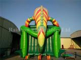 Гигантское горячее продавая раздувное скольжение хамелеона для малышей и взрослого