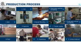 O gelado de alta velocidade do descanso horizontal fura a fábrica de máquina da embalagem