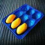 Plastikfrucht-Tellersegment der Mangofrucht-pp. mit Teilern