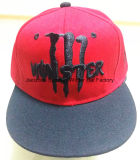 Chapeaux faits sur commande de Snapback de coton de loisirs de la broderie 3D