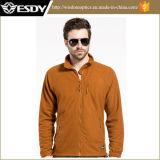 chaqueta respirable a prueba de viento del paño grueso y suave de la red del otoño táctico ligero de 3-Colors Esdy