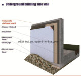 窪みのGeomembraneの排水のボードの合成の緑の屋根シート