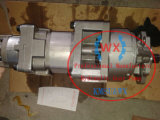 Bouteur Wd600-6, pompe principale hydraulique 705-55-43040 de roue de pompe à engrenages Wa600-6