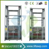 hydraulischer vertikaler 500kg Führungsleiste-Ladung-Aufzug