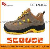O solado de PU de dupla densidade Calçado de Segurança Industrial Rh098