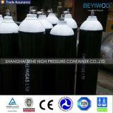 El cilindro de oxígeno de acero del cilindro de gas del precio bajo 40L para Paquistán