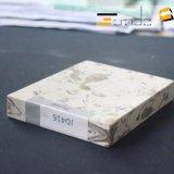 Bancada de cristal artificial da Engenharia de Materiais para decoração em pedra de quartzo