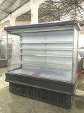 Supermercado Vertical Multideck Exibir Abrir Chiller/Refrigeração Armário Showcase/ congelador