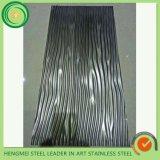 Strato timbrato SUS304 dell'acciaio inossidabile per la decorazione interna ed esterna