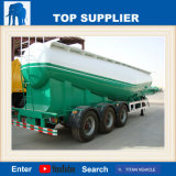 Dieselmotor van de Aanhangwagen van het Cement van de titaan 70t de V-vormige Bulk met de Aanhangwagen van de Compressoren van de Lucht