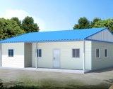 Maison préfabriquée de deux étages avec des rampes en acier inoxydable (KXD-pH7)