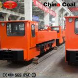 耐圧防爆ディーゼル機関の石炭機関車