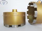 StoneのためのM14 Sintered Core Drill Bit Diamond Drill Bit