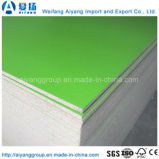 cartão da melamina da cor contínua de 1220*2440mm para a mobília interna