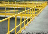 FRPの手すりまたは建築材料かガラス繊維の梯子または塀/ガードレール