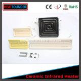 Calentador del panel eléctrico de cerámica del alúmina de alta temperatura