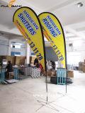 bandiera di volo di stampa di 2.8m/bandierina laterali doppie di alluminio di pubblicità del Teardrop