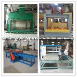 Linha de produção automática da madeira compensada de Hdraulic