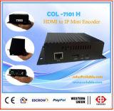 H. 264 Codificador IPTV, Codificador HDMI IPTV, codificador de Streaming IPTV Col7101h