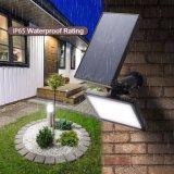 極度の明るい太陽動力を与えられた屋外の動きセンサーの機密保護太陽LEDの壁ライト
