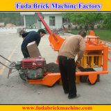 Qm4-45具体的な空の固体ブロックのためのディーゼル移動式煉瓦機械