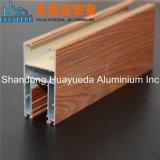 美しいデザイン木の穀物の転送のアルミニウムプロフィールによって二重ガラスをはめられる明確なガラスSunroom