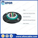 24core Loose Tube Steel Tape Armor Fiber Cable From Factory
