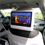 9 Monitor van de Hoofdsteun van de Auto DVD van het Scherm van de duim de Digitale met Draadloos Spel, IR/FM, DVD, Spreker, USB/SD