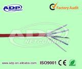 8 tipo PVC del gatto 5e dei conduttori del cavo Cat5e LSZH della rete