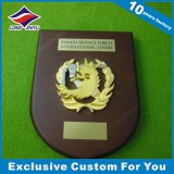 Trophée Metal 3D Metal Golden Metal en métal bouclier en métal doré