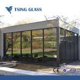 Low-e limpar o vidro oco coloridas foscas com isolamento do vidro isolante de paredes de Cortina de vidro