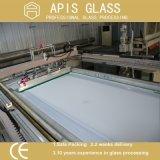 よの中国楕円形の平らな磨かれた端によって曇らされる塗られた強くされたConferencetableの上のガラス卸売