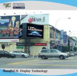Instalação fixa exterior de alta qualidade Publicidade Cores P10 Painéis de LED