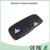 Amazonas Spitzenverkaufenverdrahtete USB-Computer-Tastatur und optische Maus kombiniert (KB-C13)