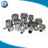 De Nok van het aluminium en de Steel van de Slang van de Adapter van Camlock van de Groef verbinden snel Koppeling